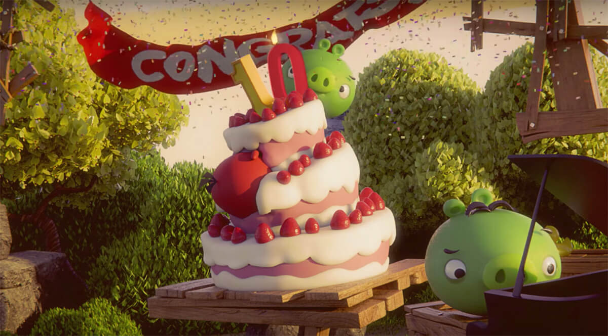 Angry Birds celebrates 10 years of feuding with egg-stealing pigs