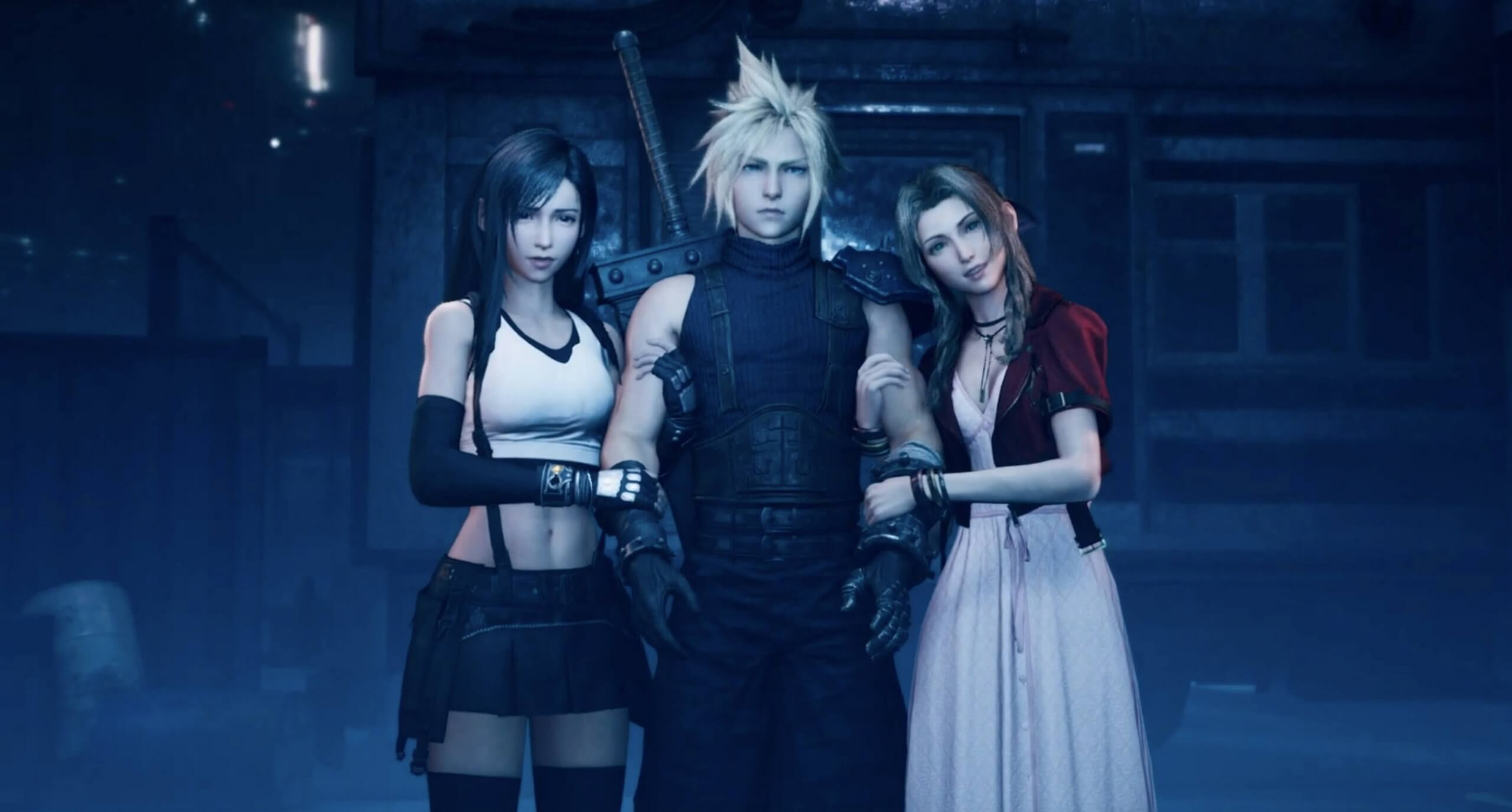 Image result for final fantasy vii remake