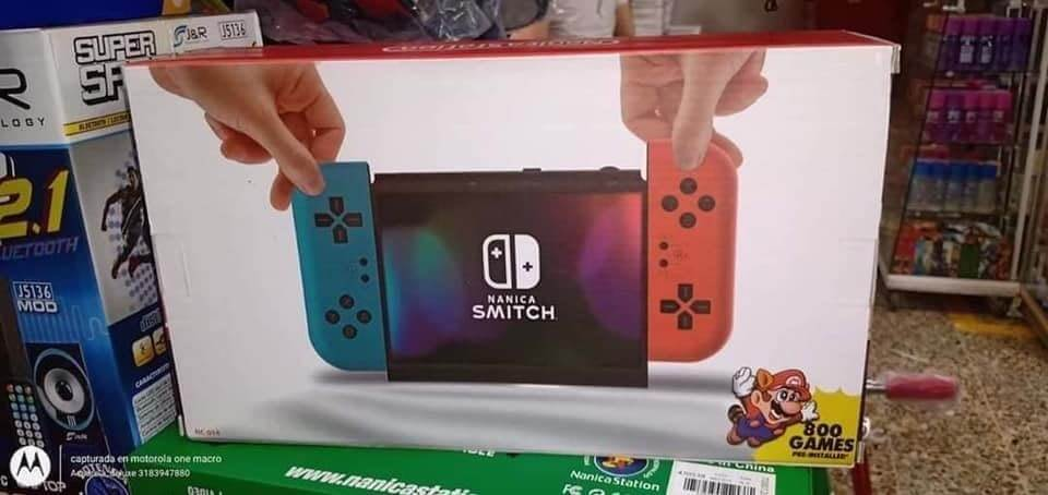 Check out the Nanica Smitch, a terrible Nintendo Switch rip-off