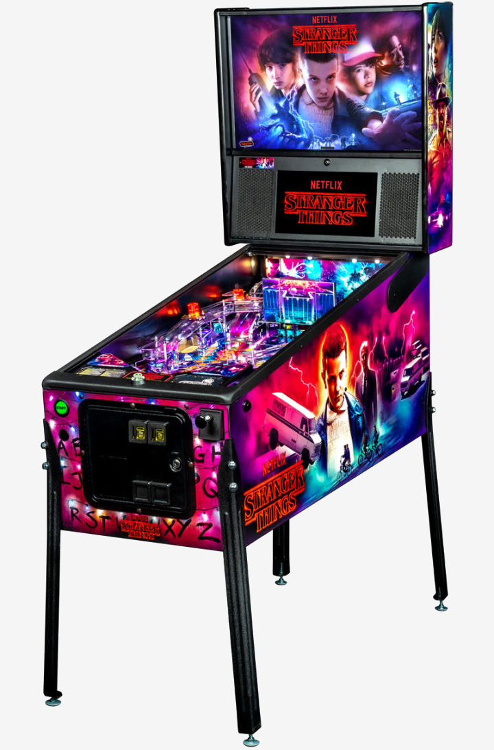 Battle the Demogorgon in these beautiful Stranger Things pinball machines - TechSpot