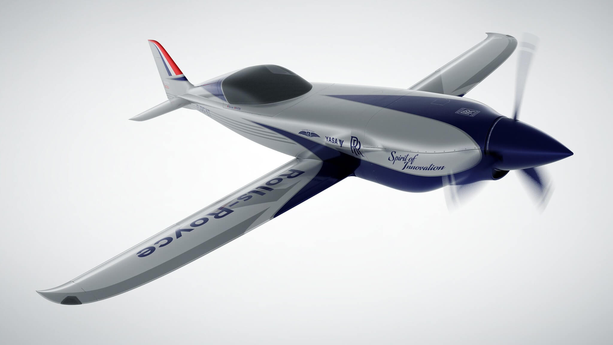 Rolls-Royce aims for the world's fastest all-electric plane under its ACCEL initiative
