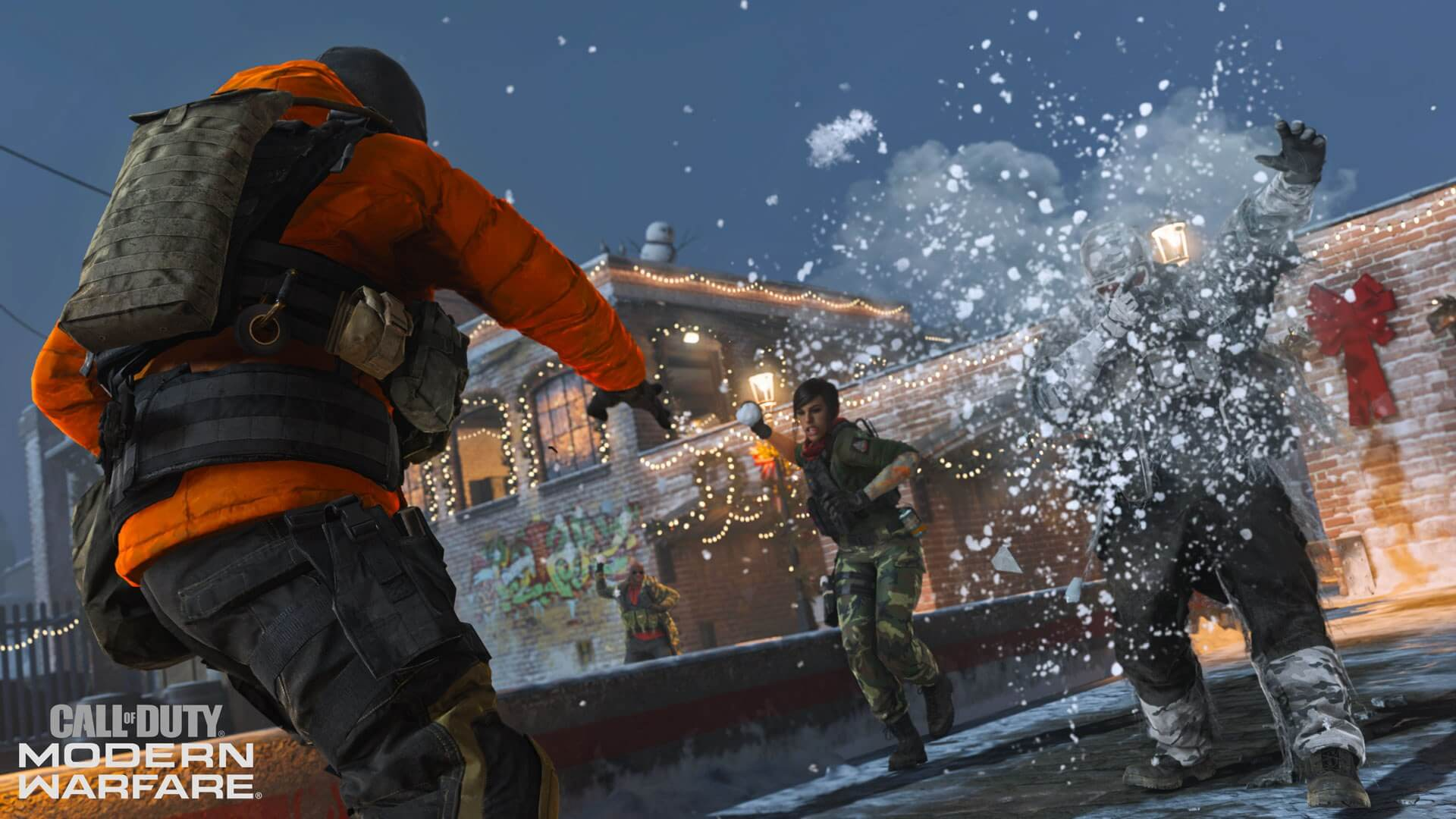Activision adds a new snowball fight match to CoD: MW for the holidays