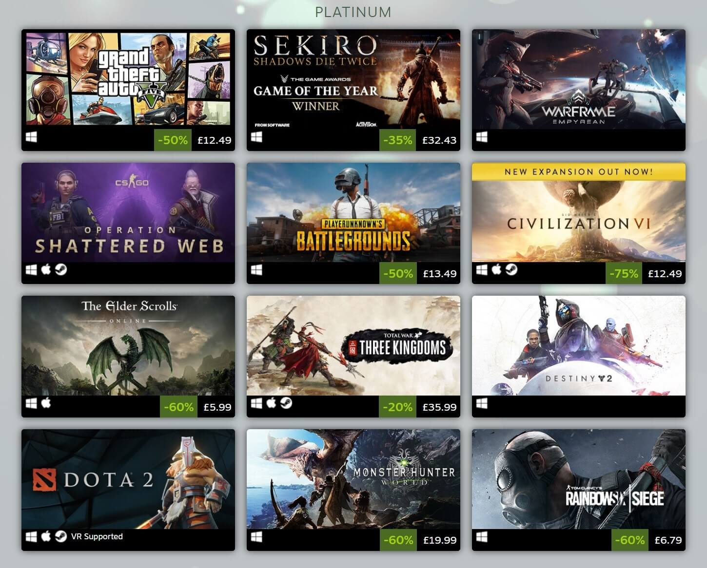 Steam Reveals Its Best Selling Games Of The Year Techspot