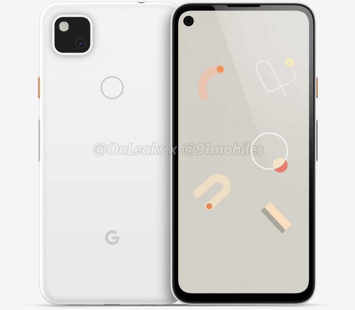 Google Pixel 4a renders reveal hole-punch display, headphone jack and more