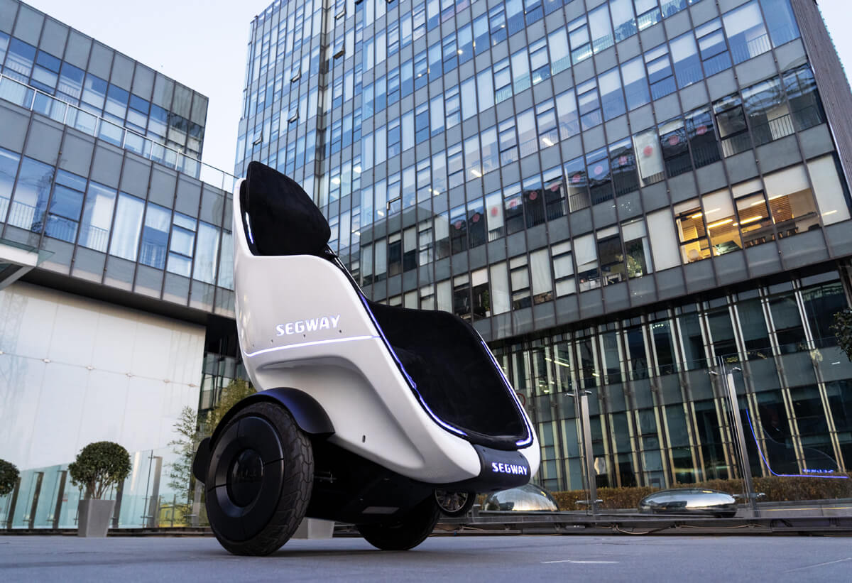Segway's S-Pod is a personal transporter fit for a king