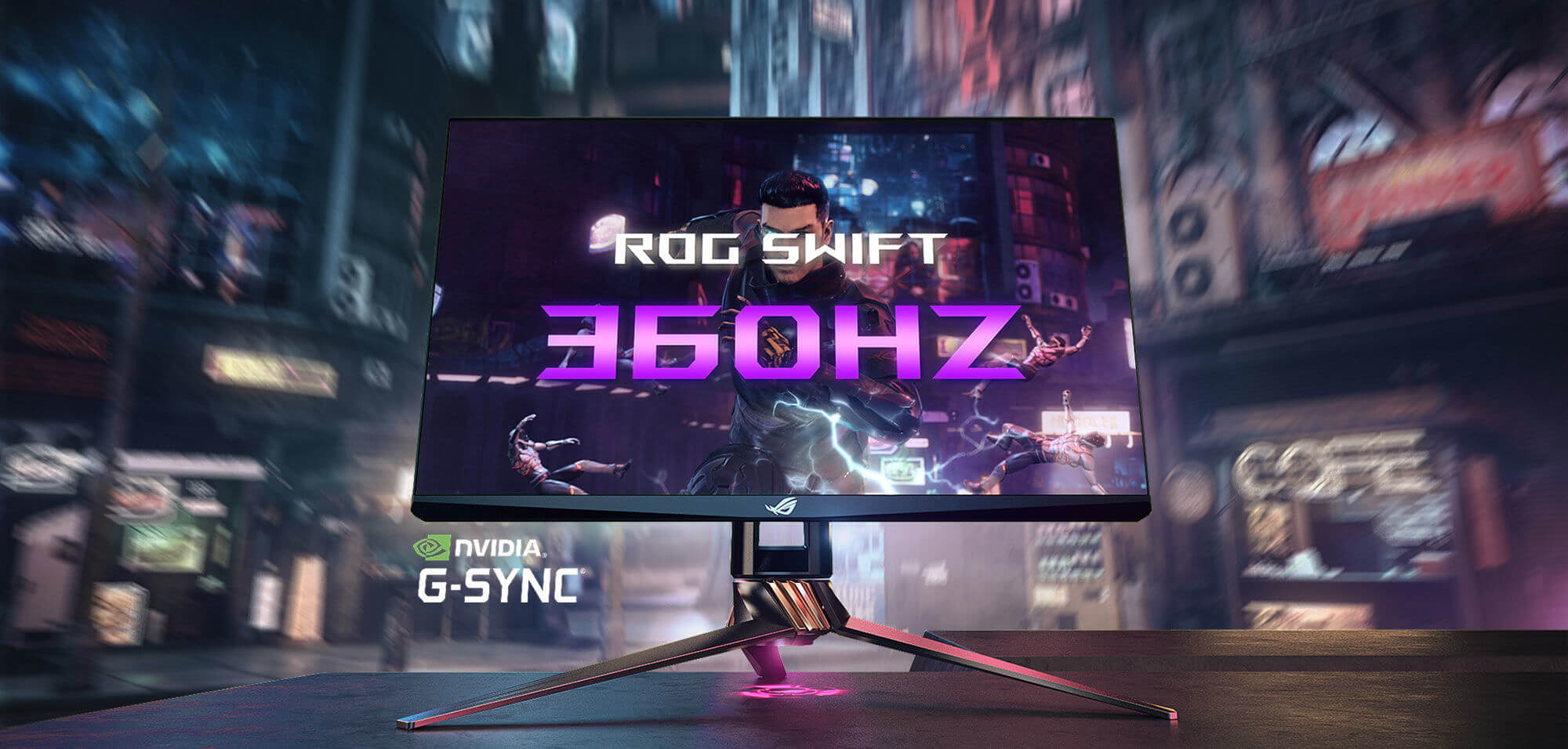 The Asus ROG Swift 360Hz is the world's fastest monitor