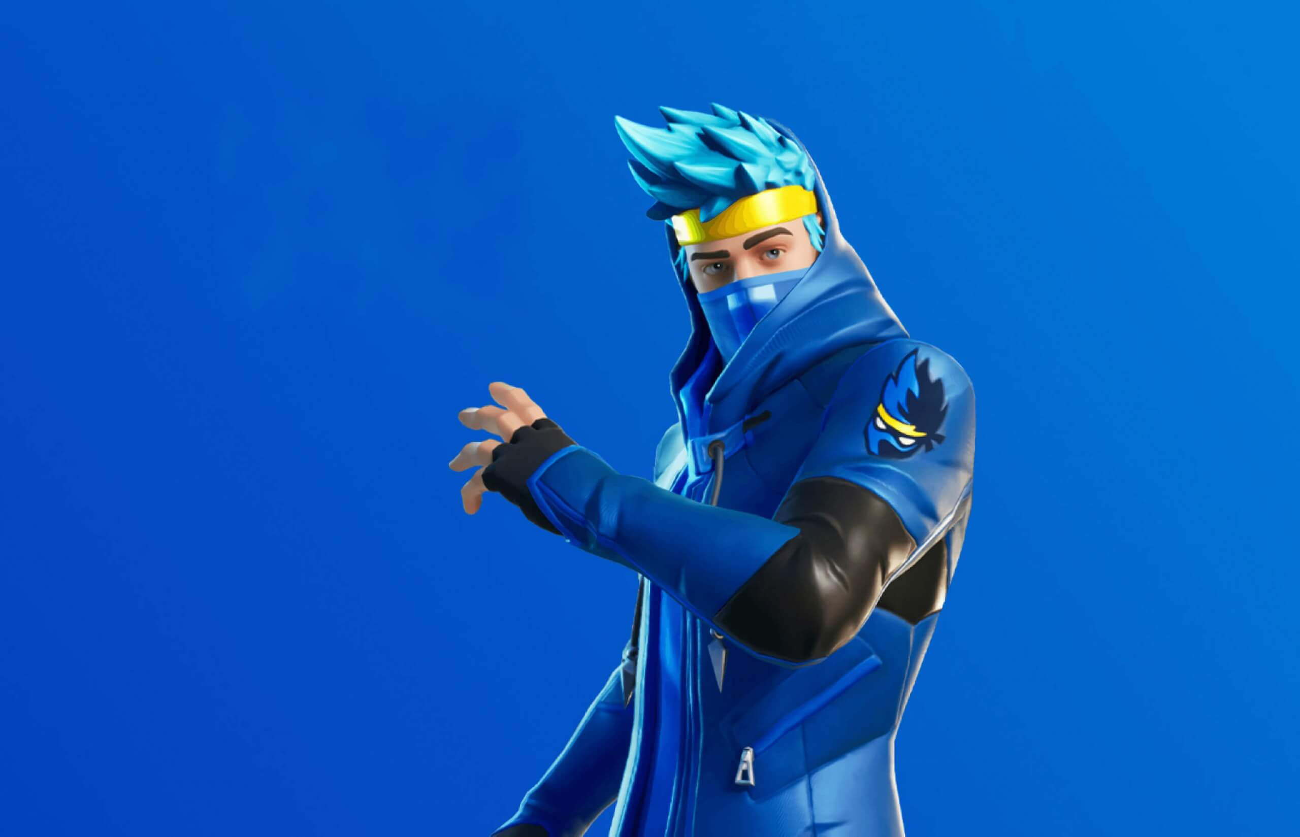 """The famous streamer Tyler """"Ninja"""" Blevins ha received has been recognized by Epic with a customized skin"""