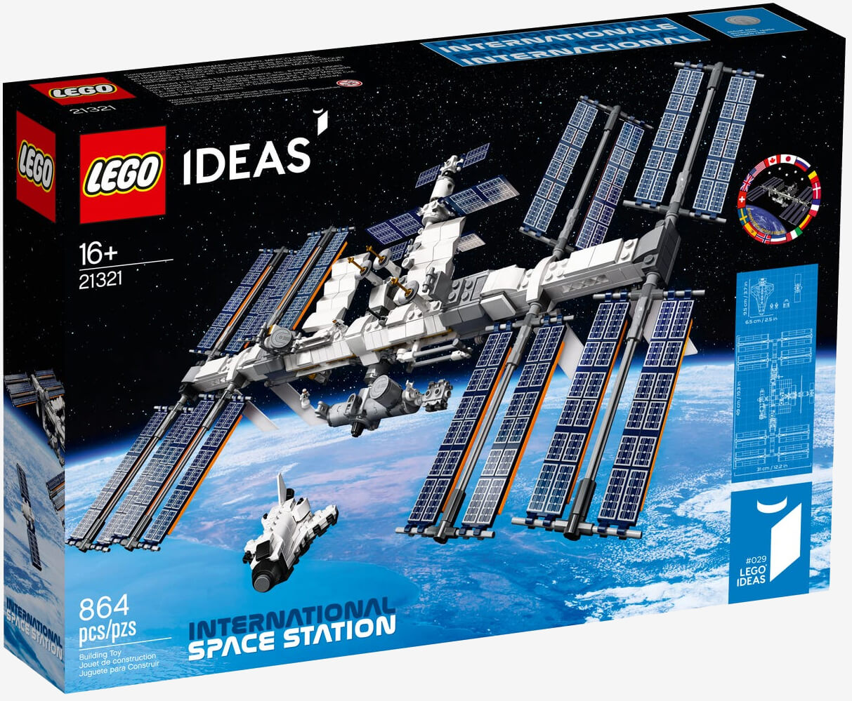 Lego's latest Idea creation is the International Space Station kit