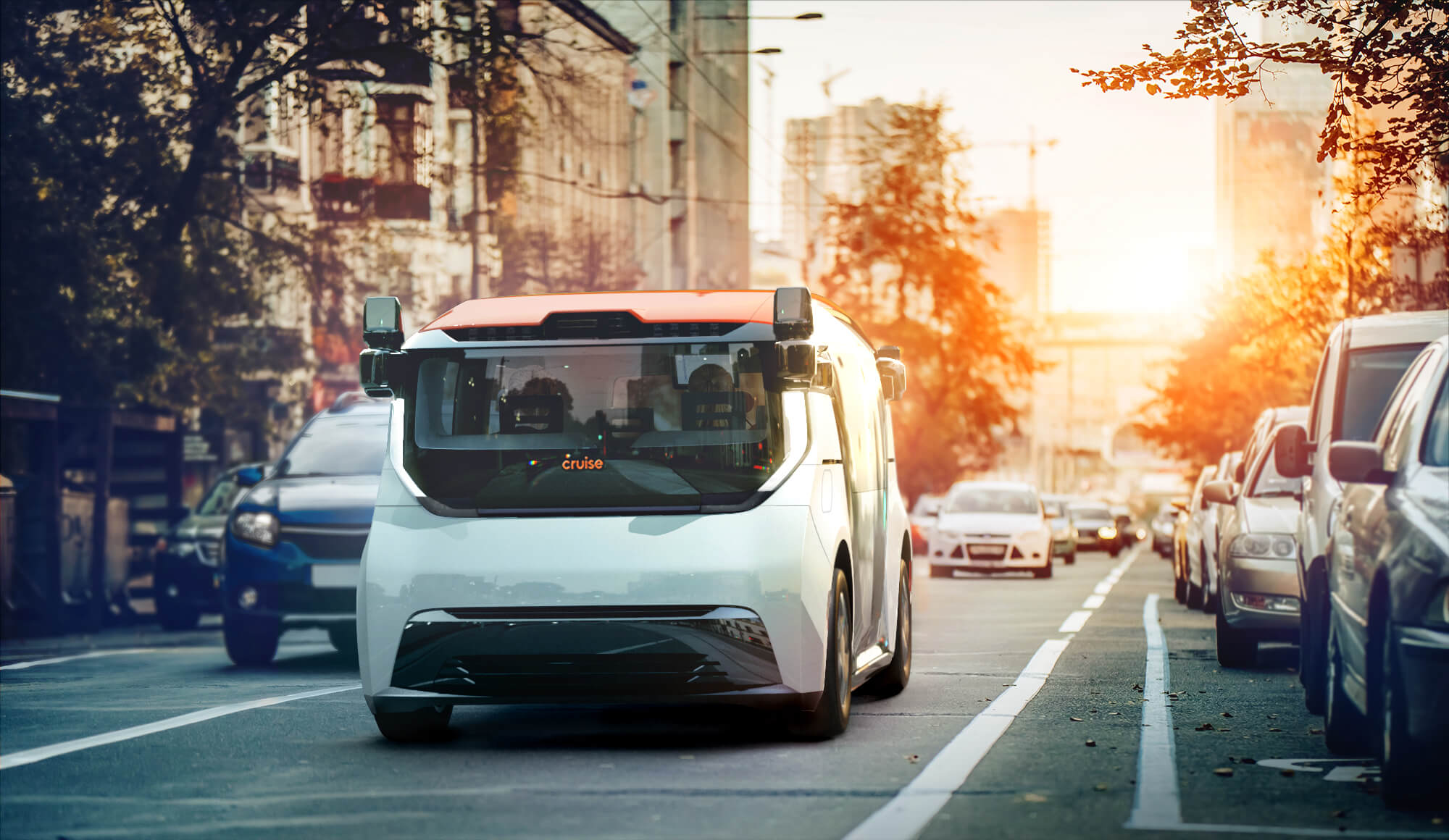 Cruise's self-driving electric shuttle is purpose built for ridesharing