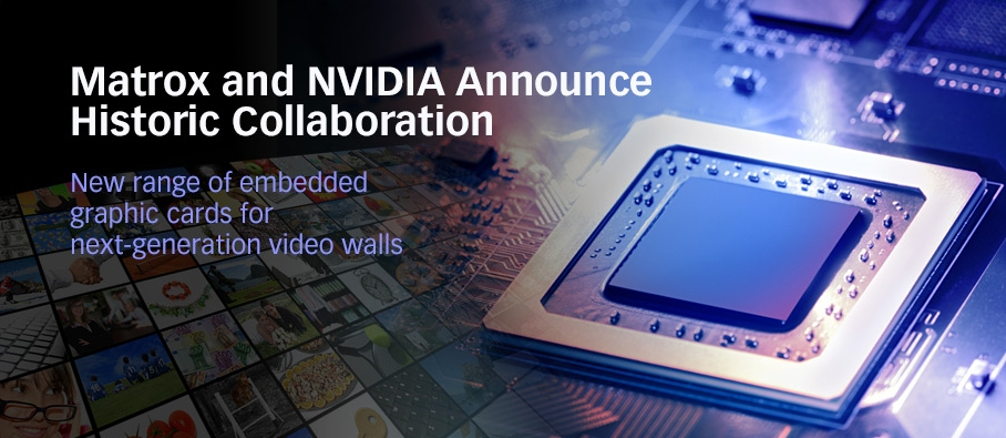 Graphics stalwart Matrox collaborates with Nvidia on new video card series