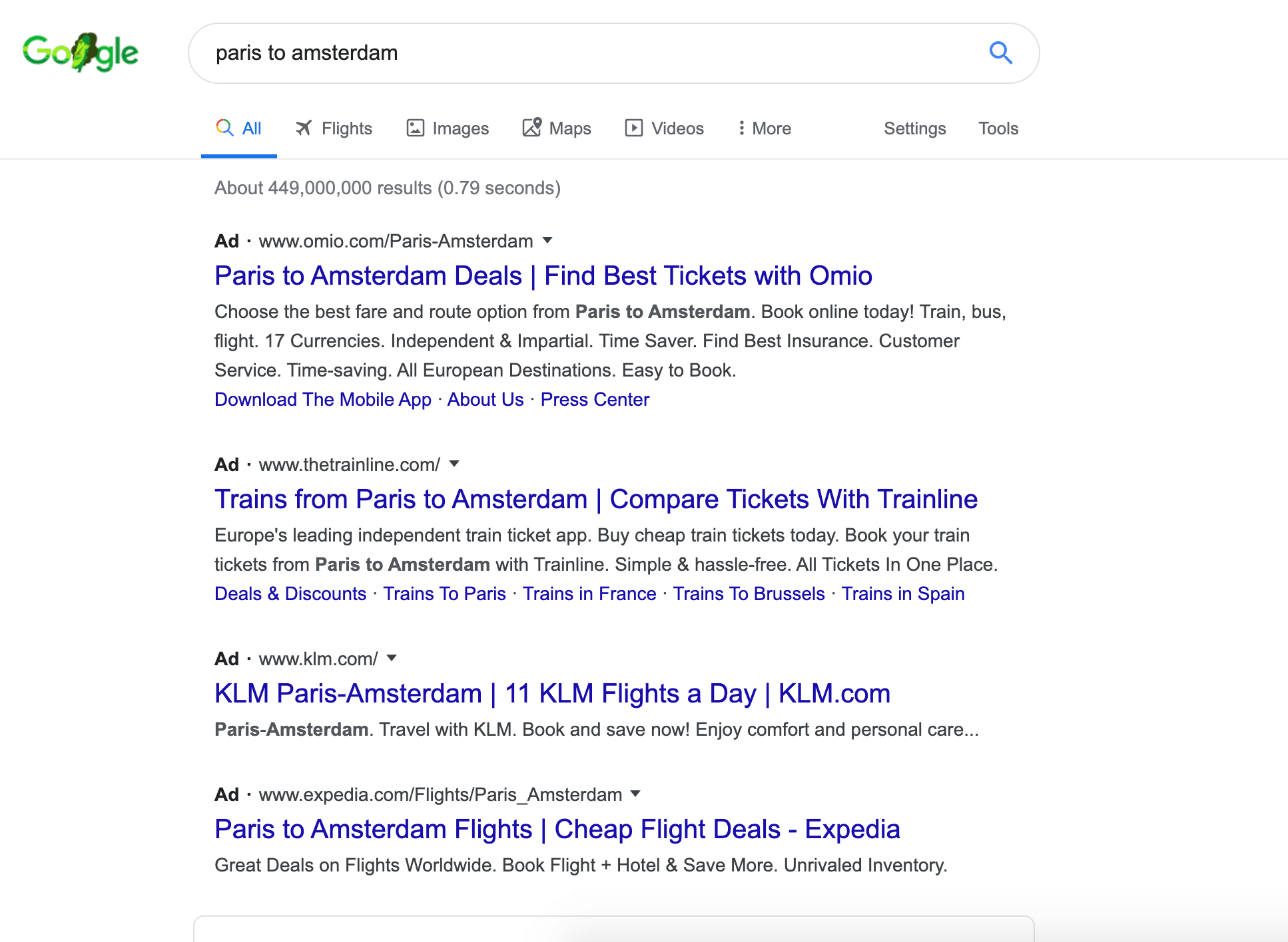 Google updated look of search results makes ads less obvious