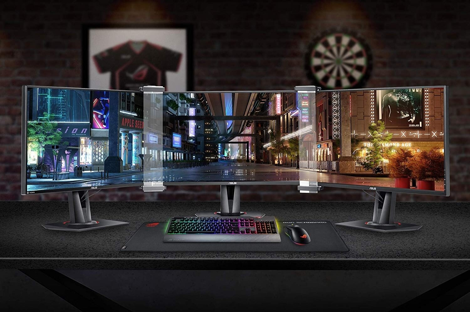 Asus' bezel-eliminating monitor kit is finally available to purchase