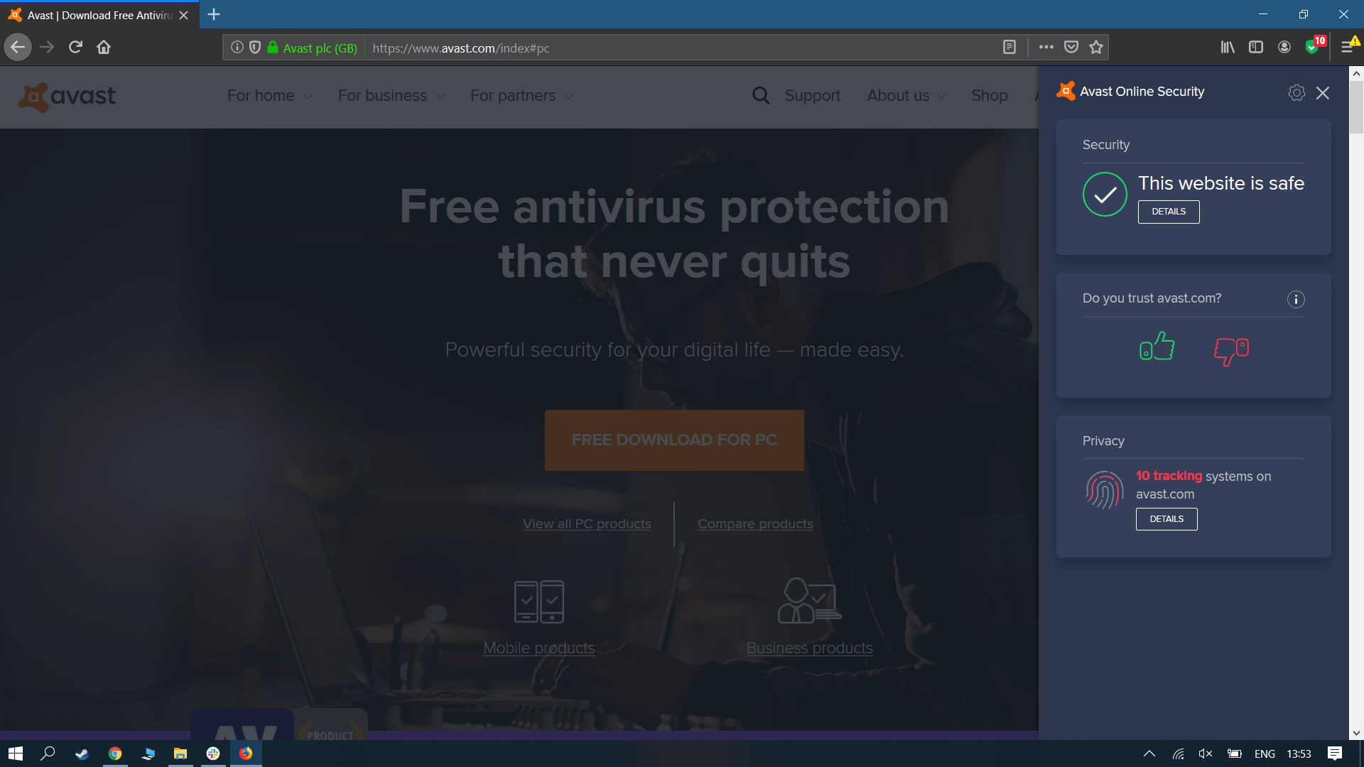 Avast's free antivirus solution tracks users online to mine data for companies like Microsoft, Pepsi, and Google