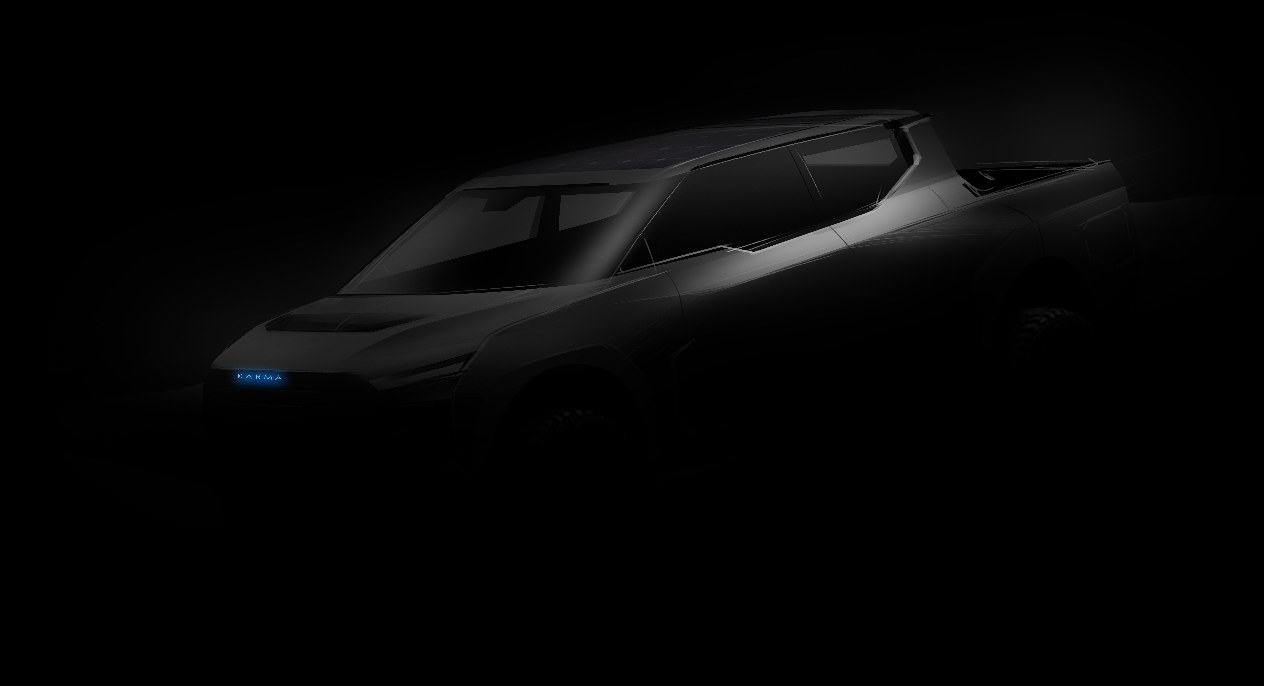 Karma Automotive will reveal its electric pickup truck later this year