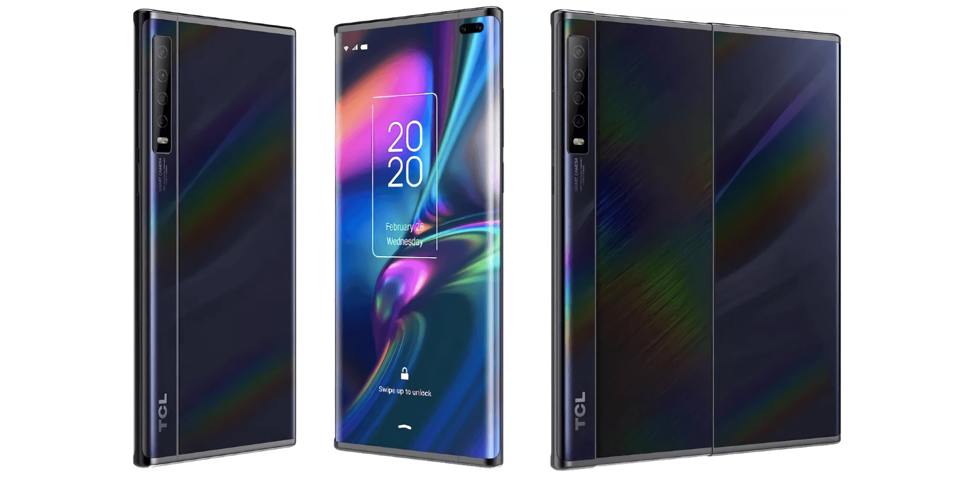Leaked photos reveal TCL working on prototype smartphone with a slide-out display