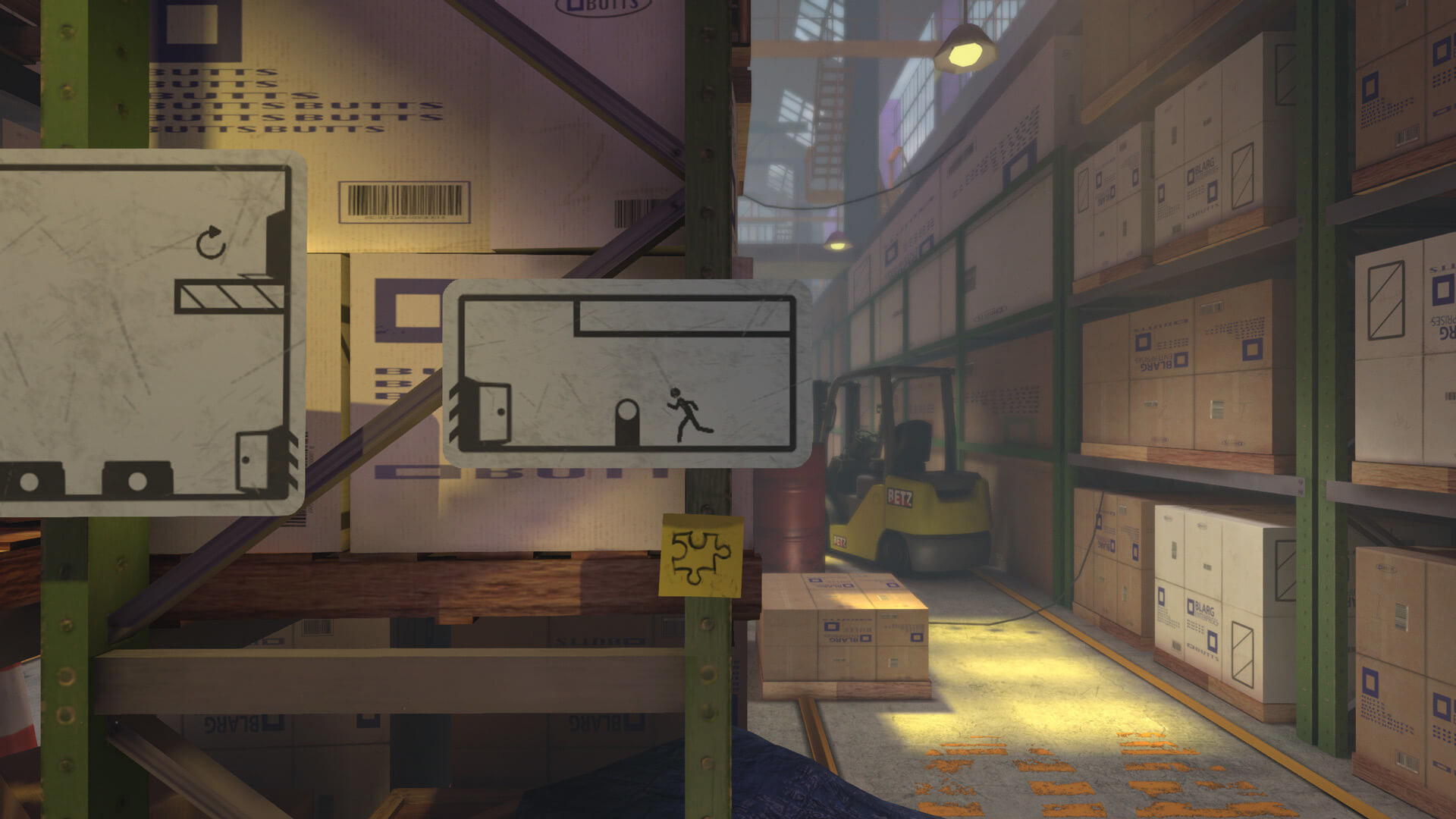 The Pedestrian is a good platformer, but great puzzle game