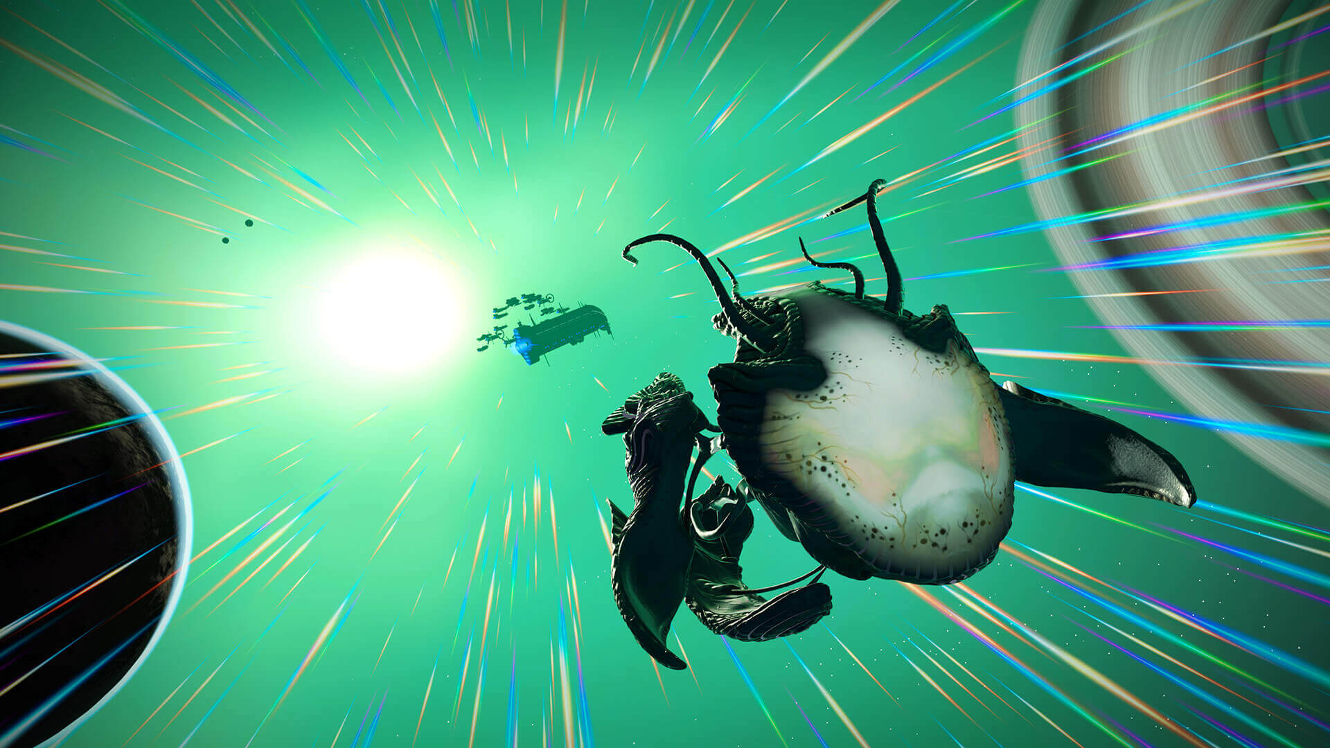 No Man's Sky adds living spaceships in latest update