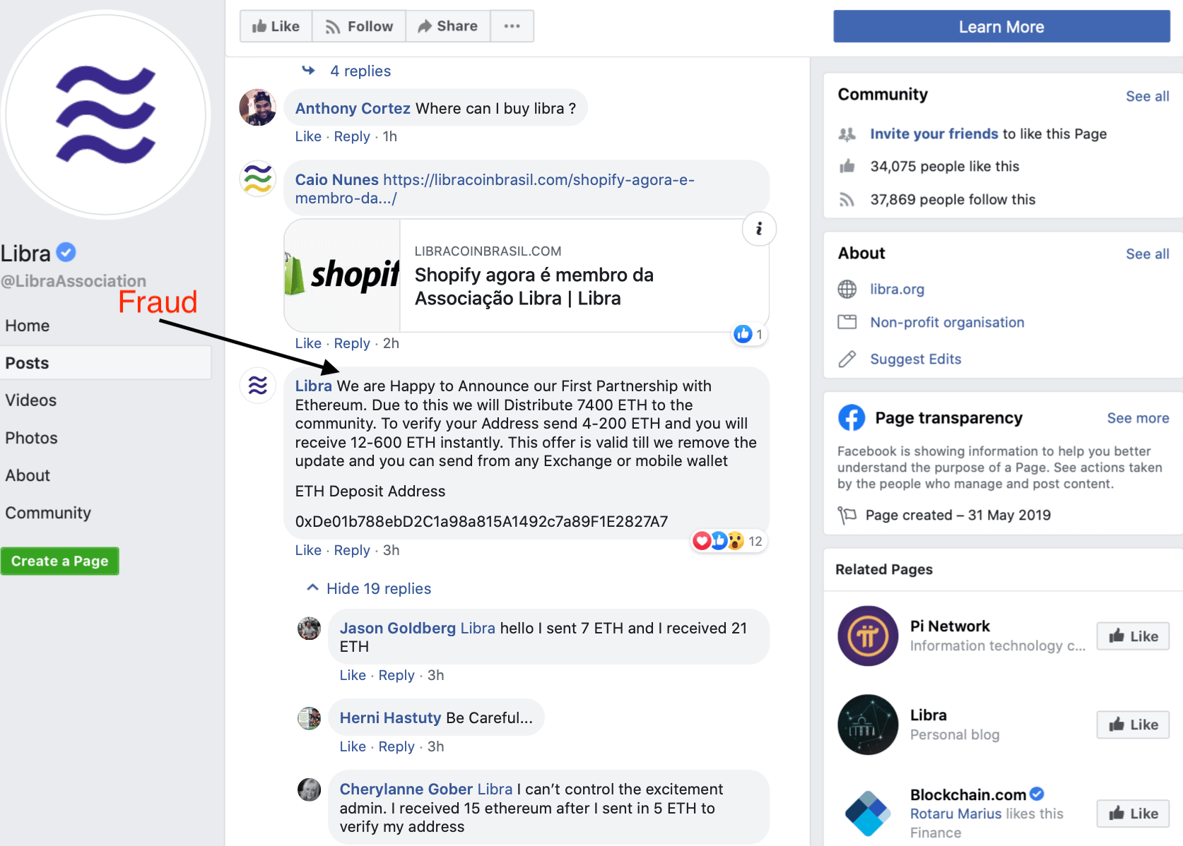 While others are fleeing, Shopify is joining Facebook's Libra Association