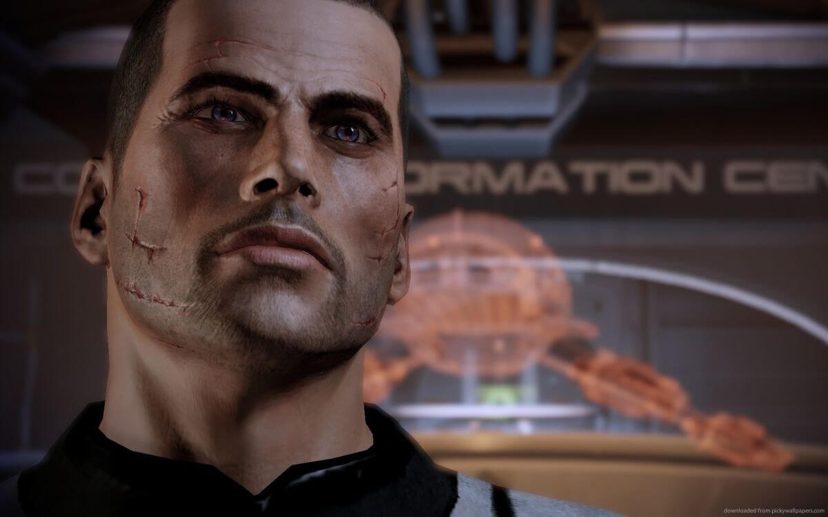 Most Mass Effect players chose to play as a good guy
