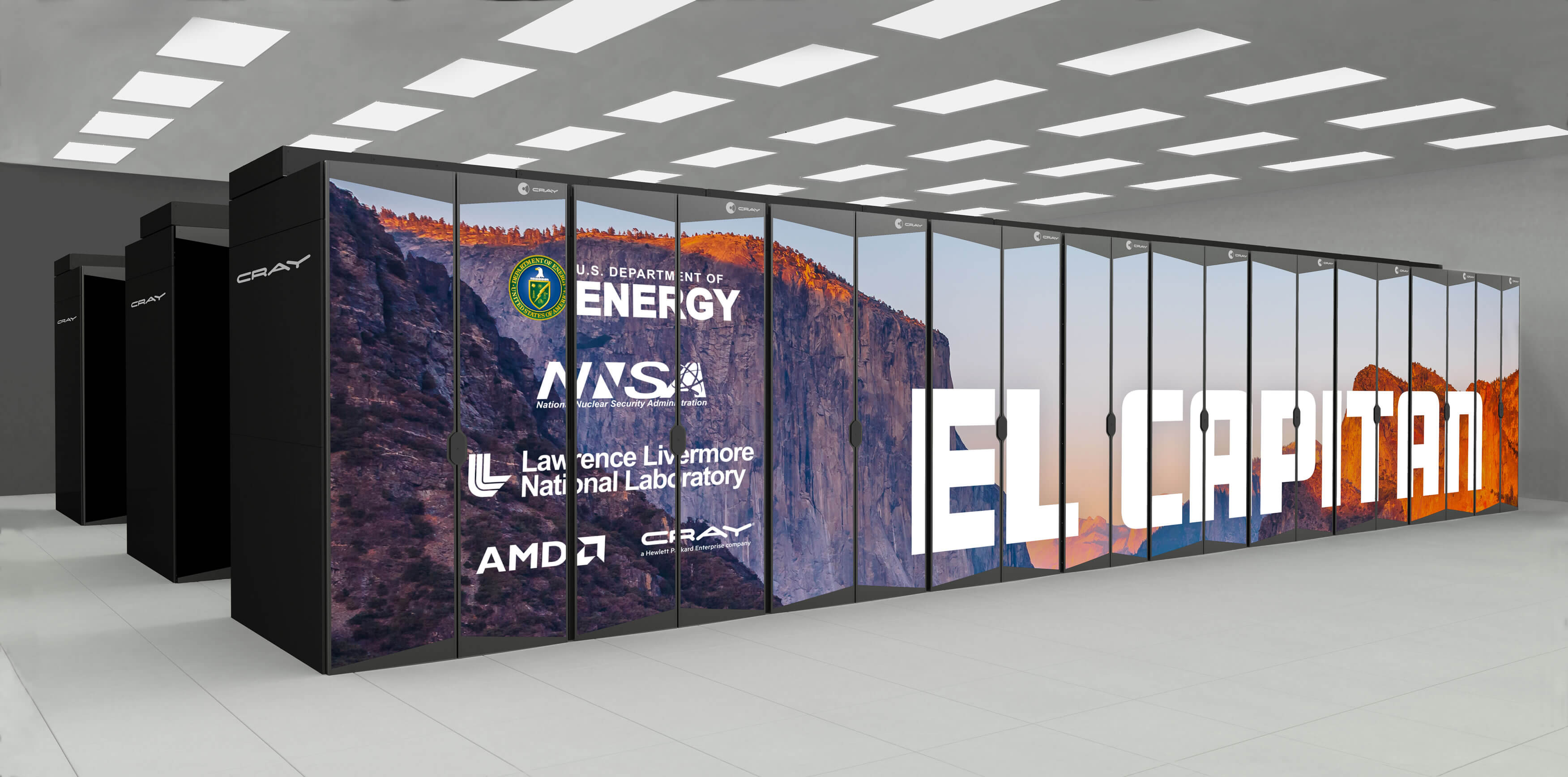 AMD CPUs and GPUs will power the future world's fastest supercomputer, 10x faster than current leader
