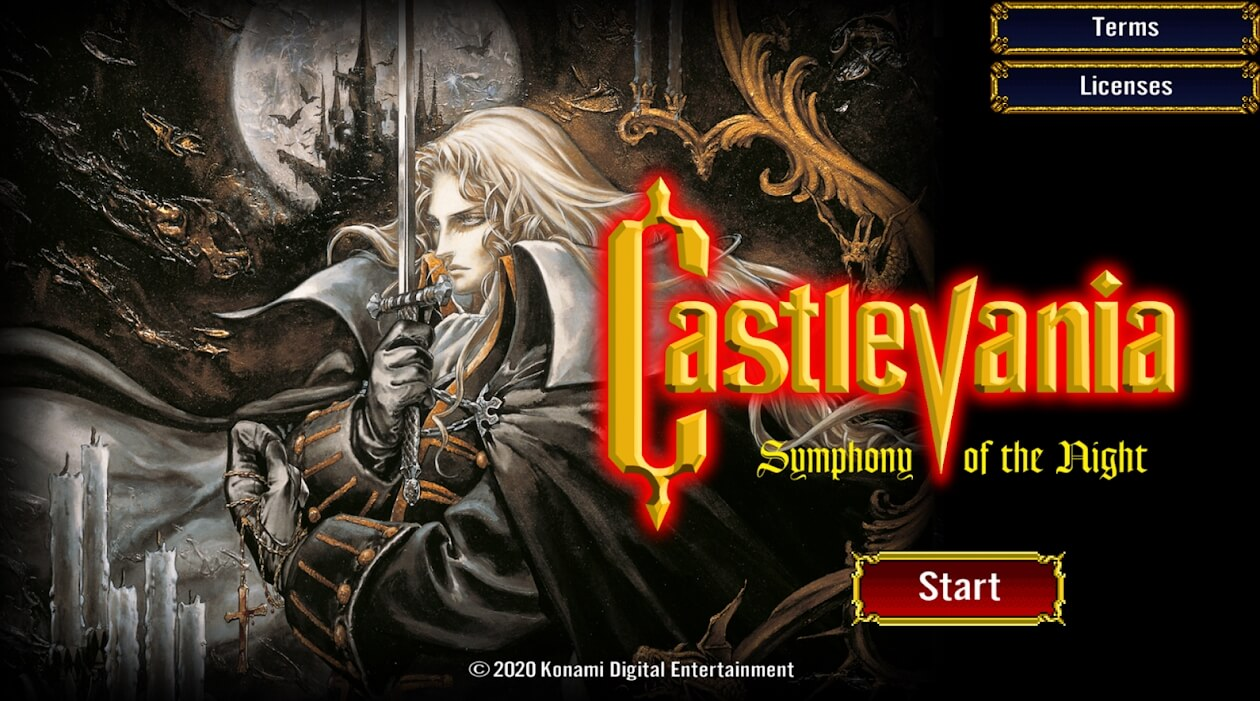 Castlevania: Symphony of the Night launches for the first time on mobile