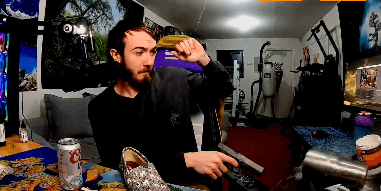 Twitch suspends streamer for discharging a firearm on air