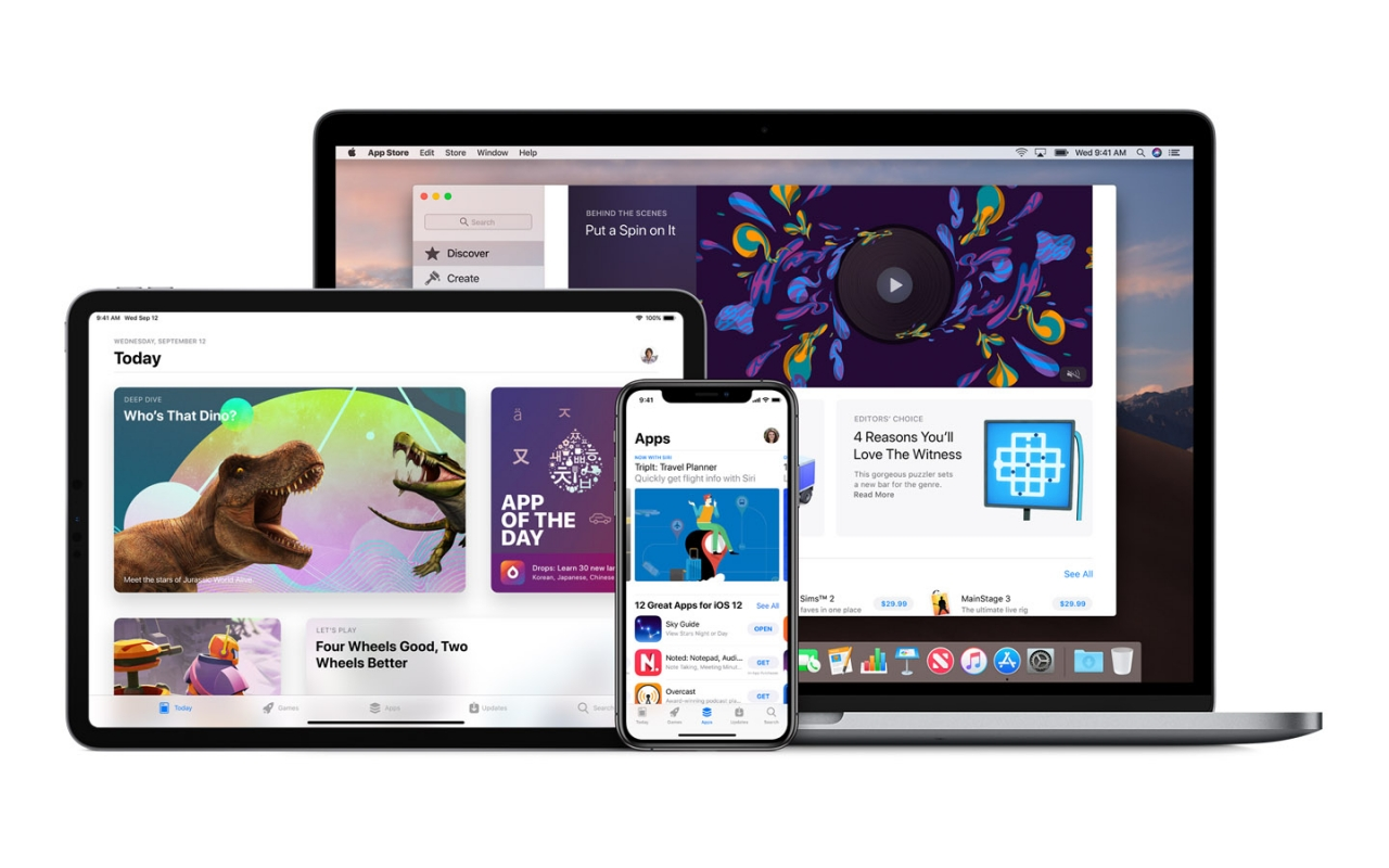 Apple rolls out universal purchases for the App Store, will expand marketplace to 20 more countries