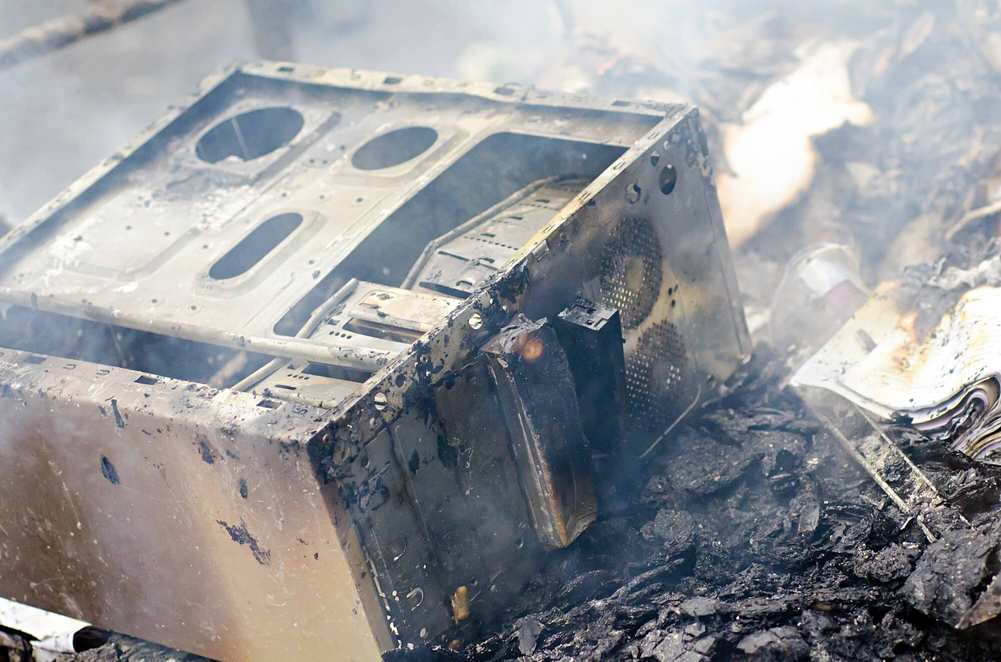 Twitch streamer's PC build goes up in smoke