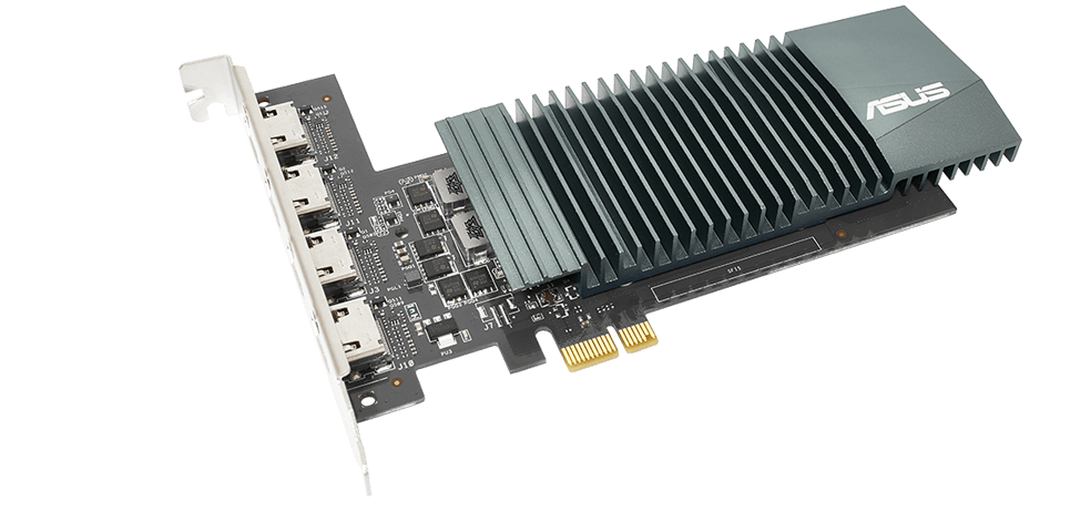 The GT710 is back, this time with four 4K HDMI ports
