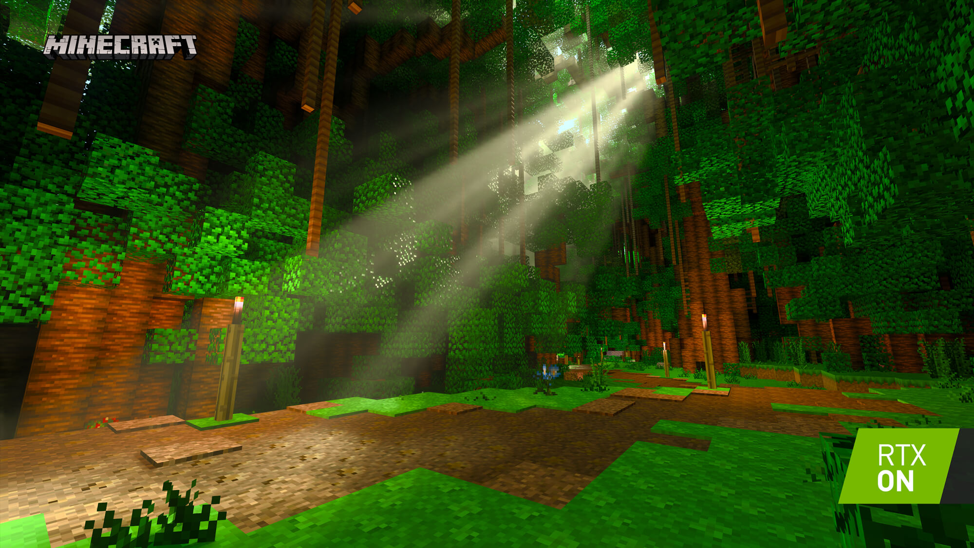Minecraft's RTX makeover arrives in beta later this week