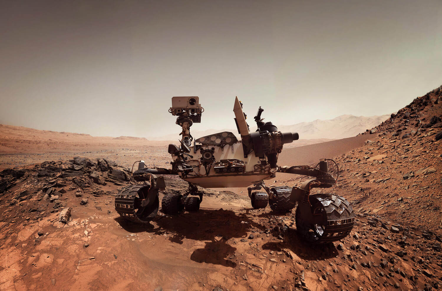 NASA scientists are controlling the Curiosity Mars Rover from their homes