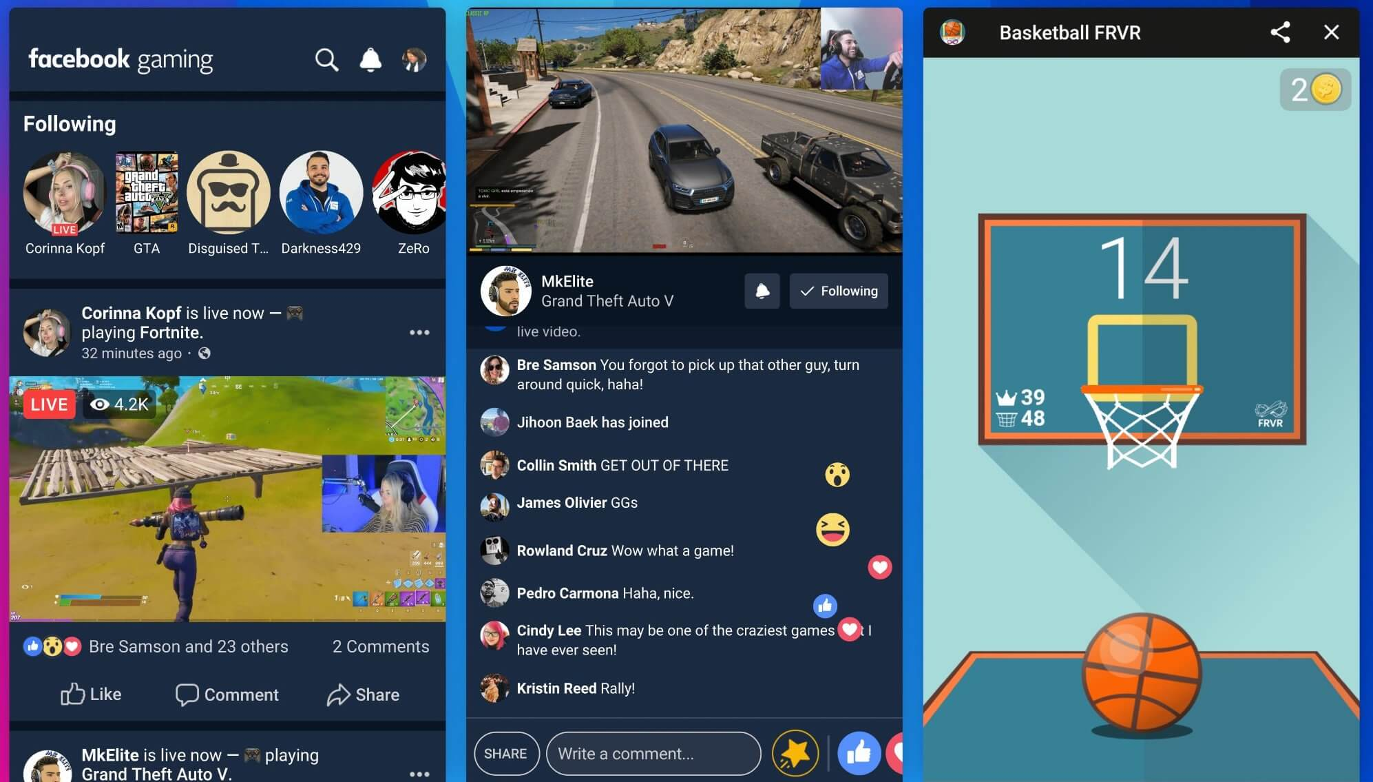 Facebook takes on Twitch, YouTube, and Mixer with