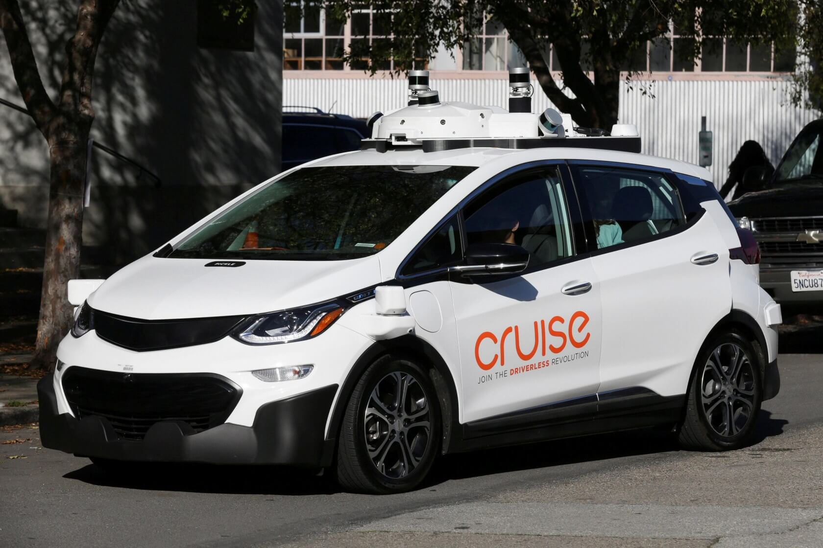 GM-backed Cruise vows to use '100 percent renewable energy' to power its autonomous cars