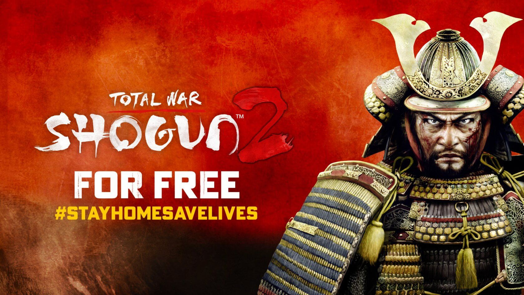 You can grab Total War: Shogun 2 for free until May 1