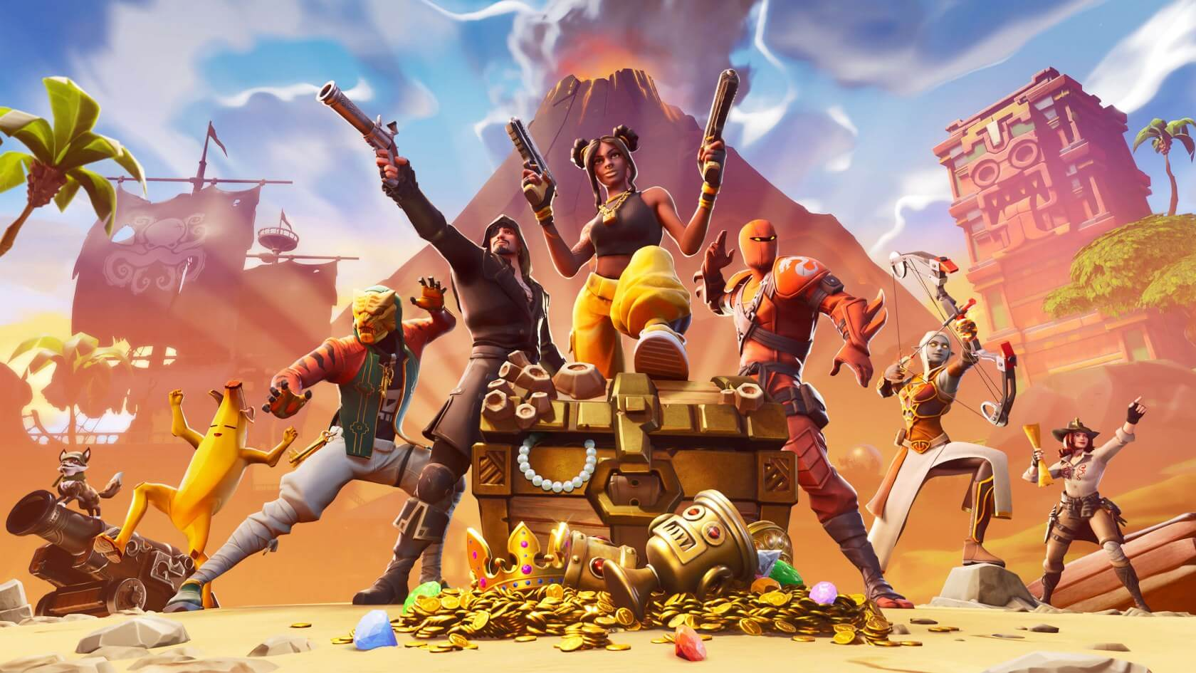 Fortnite now boasts over 350 million registered players