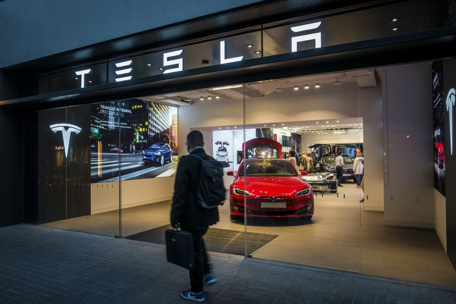 Tesla slashes EV prices by as much as six percent in North America
