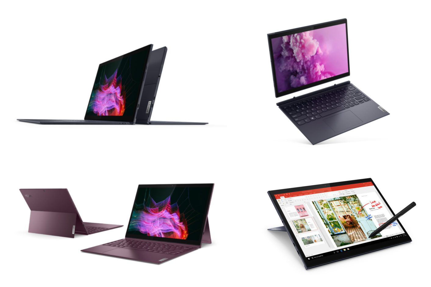 Lenovo's latest Windows 10 tablets arrive with detachable keyboards