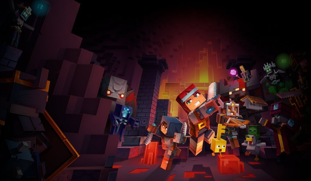 Bug in Minecraft Dungeons could wipe your PC data