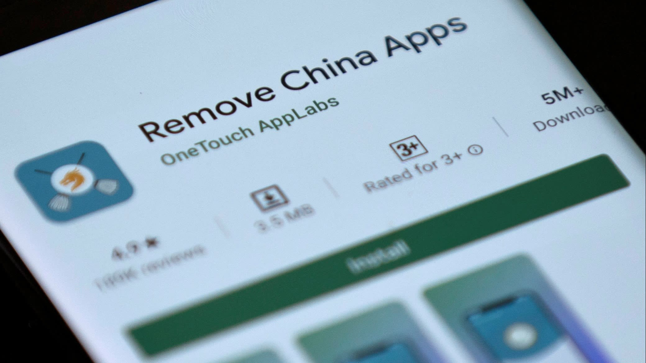 Google removes Indian app from the Play Store that helped in removing Chinese apps from smartphones