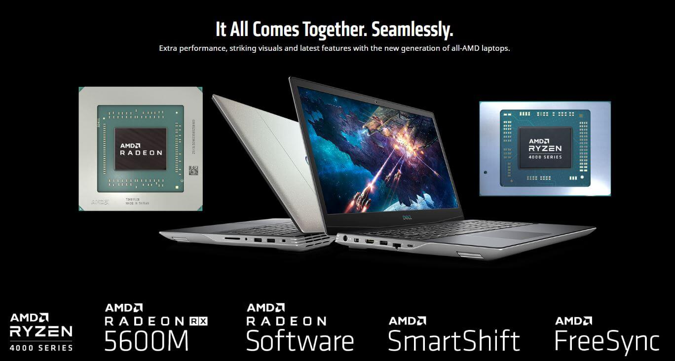 Dell will have the only AMD SmartShift laptop in 2020