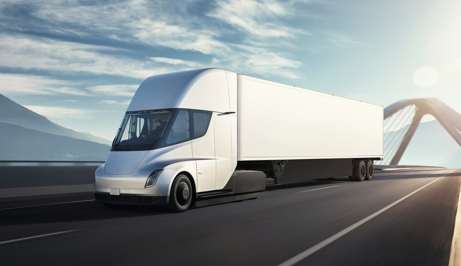 Elon Musk says Tesla's all-electric Semi is ready to enter volume production