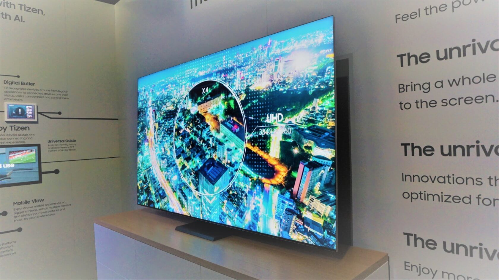Samsung's latest QLED TVs will feature FreeSync compatibility and 'low input lag'
