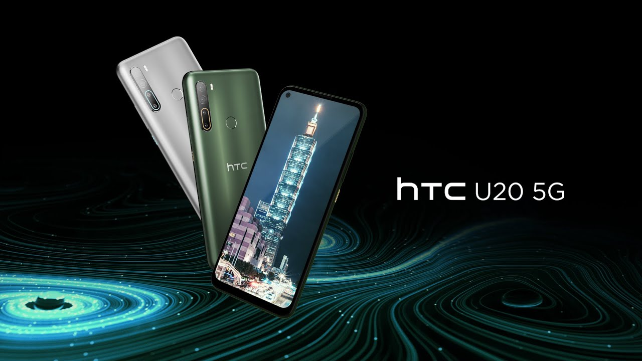 HTC announces its first 5G phone, the mid-range U20 5G