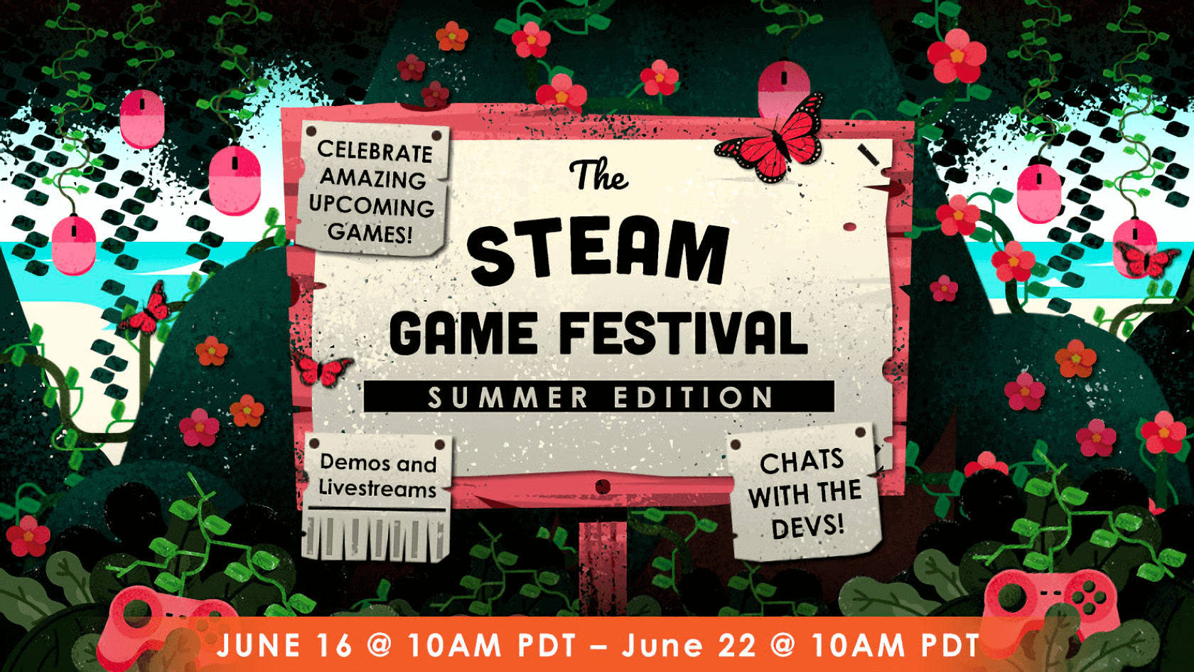 Steam's Game Festival returns with hundreds of playable demos for upcoming titles