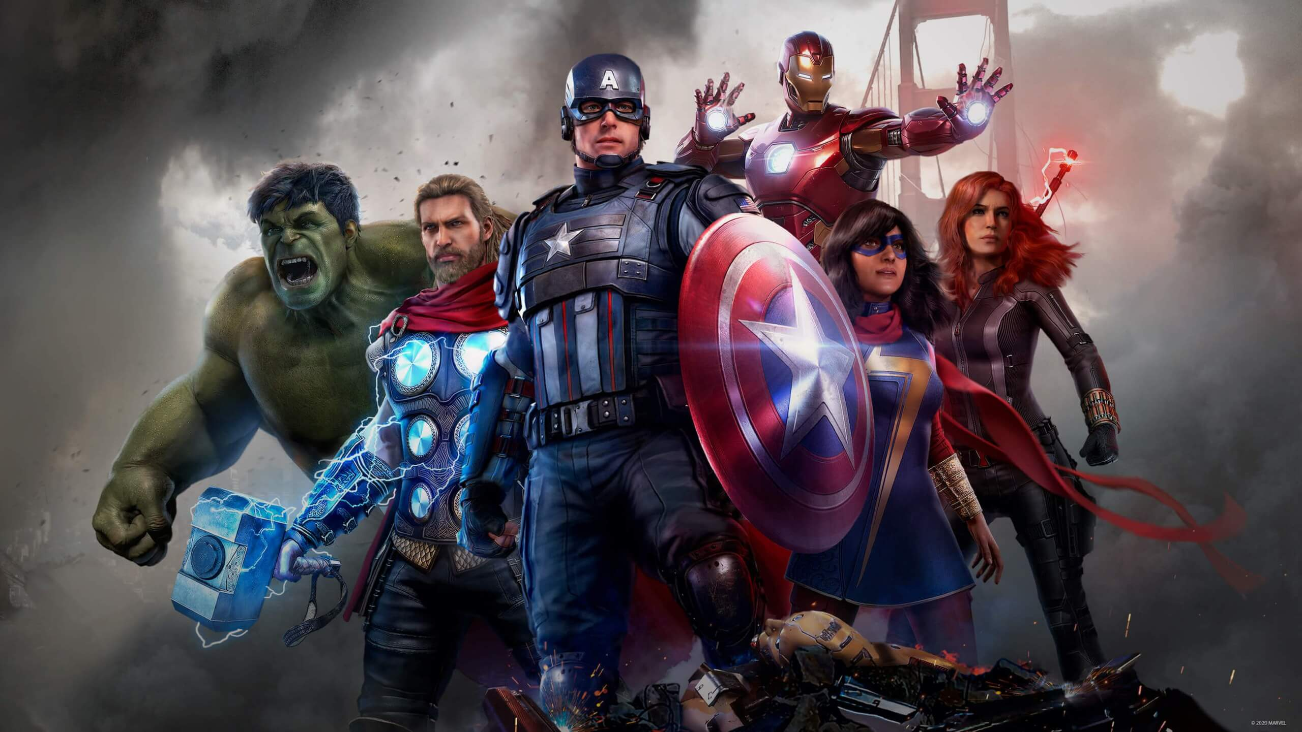 Marvel S Avengers Pc Requirements Are Here Make Space On Your Ssd