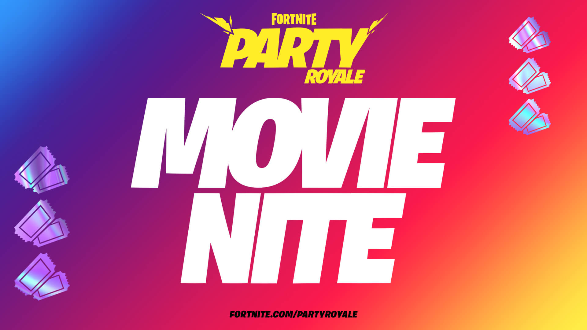 Fortnite's first movie night features Christopher Nolan classics