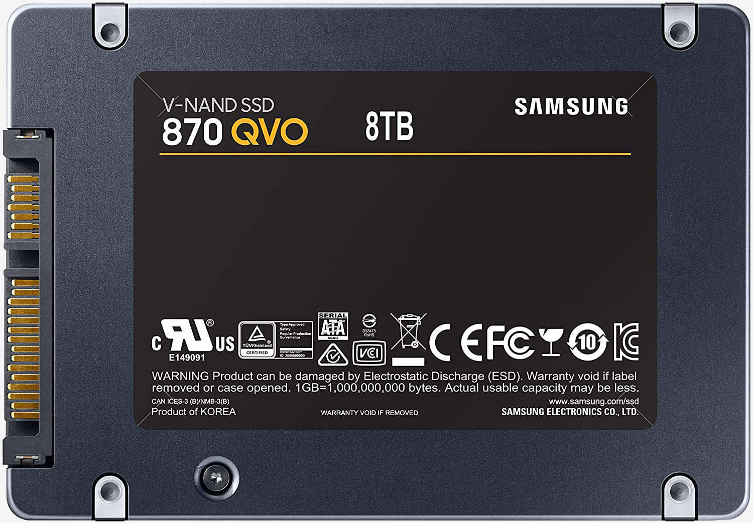 Samsung's new 870 QVO SATA line includes a monster 8TB SSD 1