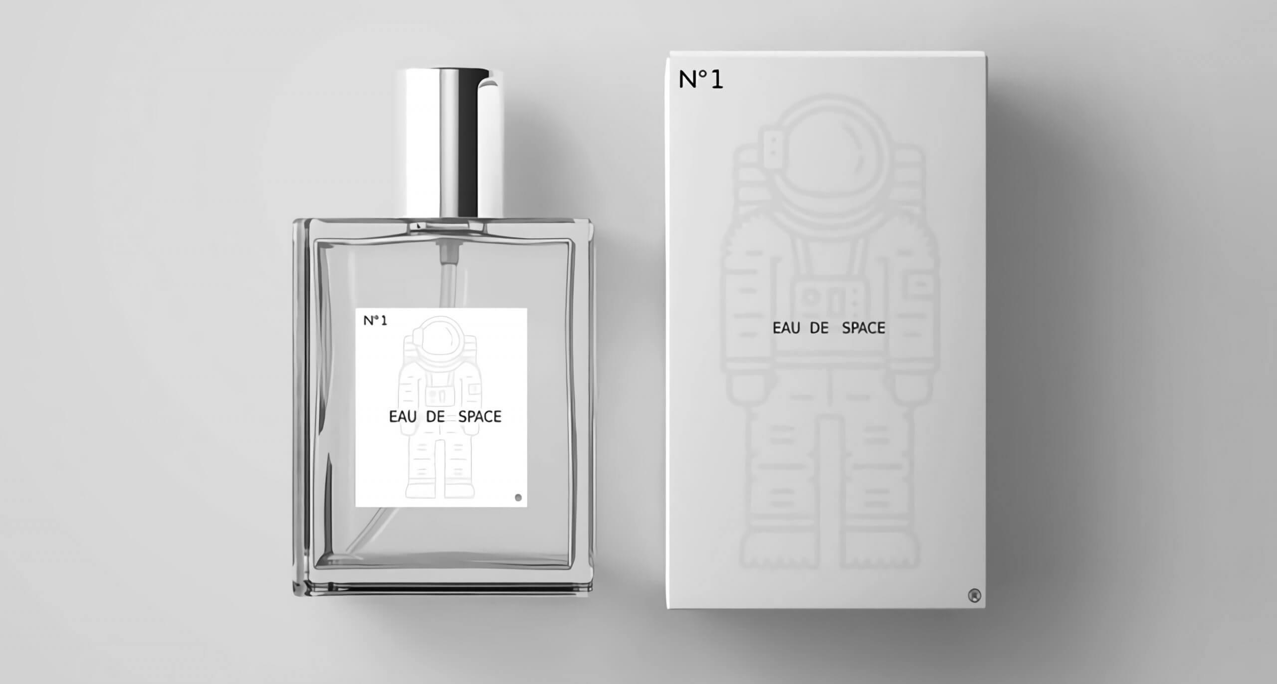 NASA released its 'space-scented' fragrance to the public in a 'one-off production'