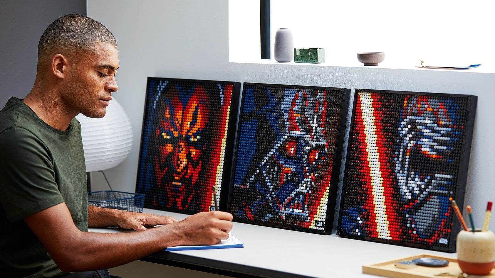 Lego's new Art line lets you build posters of Darth Vader, Iron Man, and more