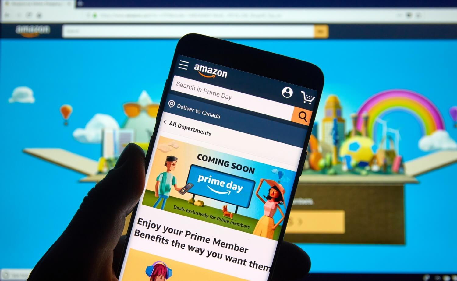 Amazon Prime Day reportedly pushed back to early October - TechSpot